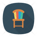 Chair Furniture School Icon