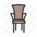 Chair Bedroom Furniture Icon
