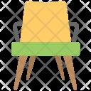 Chair Garden Furniture Icon