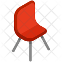 Modern Chair Furniture Icon