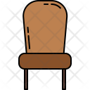 Paded Chair Furniture Icon
