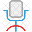 Chair Excutive Mesh Icon