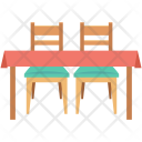 Chair Dining Table Icon