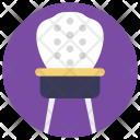 Chair Mesh Furniture Icon