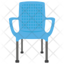 Chair Lawn Chair Plastic Chair Icon