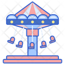 Chair Swing Ride Skyscreamer Swing Carousel Icon