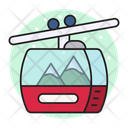 Chairlift Ropeway Tour Icon