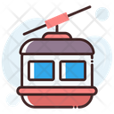 Chairlift Ropeway Aerial Lift Icon