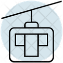 Summer Chairlift Transport Icon