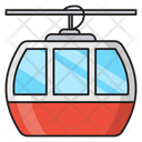 Chairlift Ropeway Transport Icon