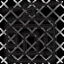 Ropeway Lift Detachable Icon