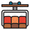 Chairlift Ropeway Lift Icon
