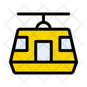 Chairlift Cableway Ropeway Icon