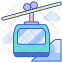 Chairlift Car Icon