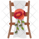 Chairs Wedding Banquet Icon