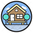 Chalet Camp Cottage Icon