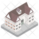 Building Home Chalet Icon