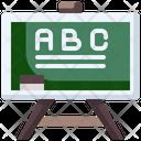 Chalkboard Classroom School Material Icon