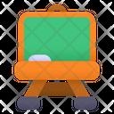 Chalkboard Online School Study Icon