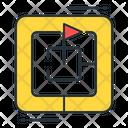 Challange Target Goal Icon