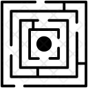 Challenge Hurdle Maze Icon