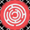 Maze Challenge Labyrinth Icon