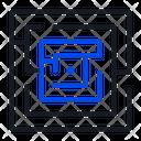 Challenge Business Maze Icon