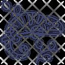 Reptile Animal Lizard Icon