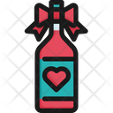 Wine Valentine Love Icon