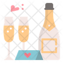 Celebration Welcome Drinks Icon