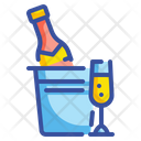 Champagne Alcohol Glass Icon