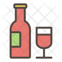 Champagne Alcohol Wiskey Icon