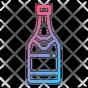Champagne Champagne Bottle Bottle Icon
