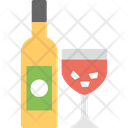 Champagne Drinking Evening Drink Icon