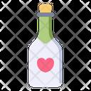 Champagne Love Wine Icon