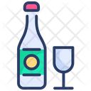 Champagne Drink Restaurant Icon