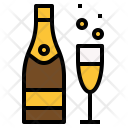Champagne Celebration Party Icon