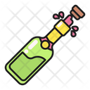 Open Drink Champagne Icon
