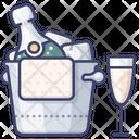 Champagne Icon