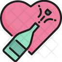 Champagne Wine Party Icon