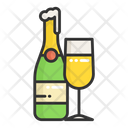 Champagne Wine Alcohol Icon