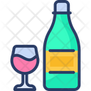 Champagne Alcohol Wine Icon