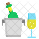 Champagne Wine Alcohol Icon