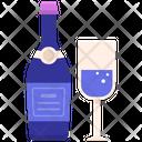 Champagne Drink Beverage Icon
