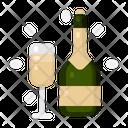 New Year Celebration Event Icon