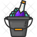 Champagne Alcoholic Drink Celebration Icon