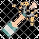 Champagne Party Celebration Icon
