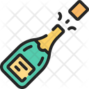 Champagne Celebration Holidays Icon