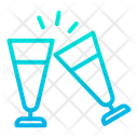 Clink Glass Toast Icon
