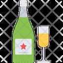 Champagne Wineglass Wine Icon